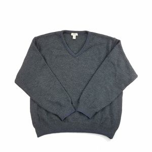 GH Bass & Co. 100% Worsted Wool Pullover Sweater